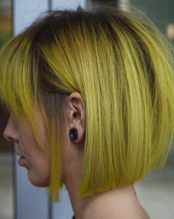 Magnificent Unique Trends Of Yellow Bob Haircuts For Women 2018 Hair Styles Schematic Wiring Diagrams Amerangerunnerswayorg