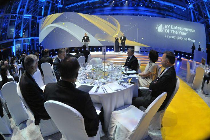 Gala finałowa konkursu EY Przedsiębiorca Roku. EY Entrepreneur Of The Year 2013 Poland