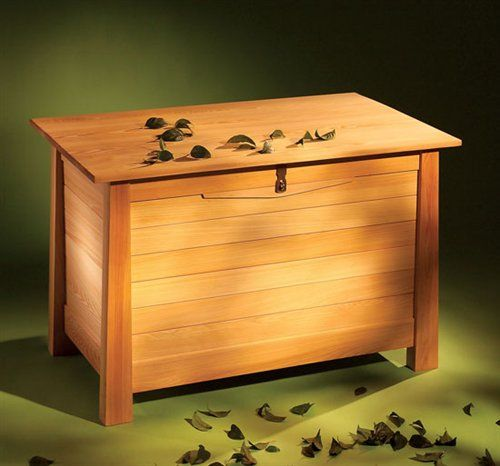 Cypress Chest - Woodworking Projects - American Woodworker