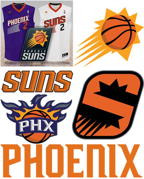 Phoenix Suns New Logos 2013-14