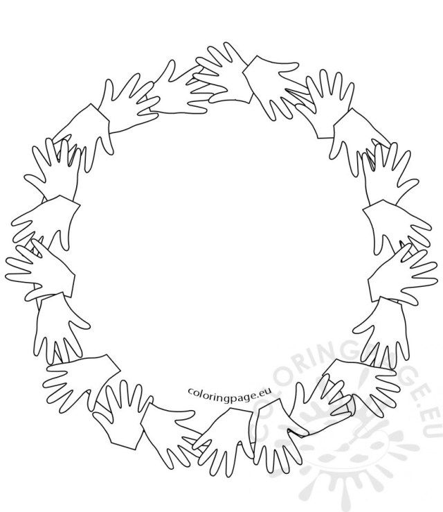Circle Coloring Page Coloring Pages Shapes Preschool Shapes For Kids