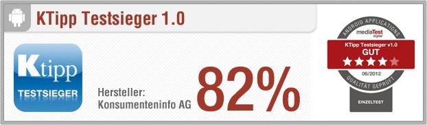 App-Test: KTipp Testsieger - Pro: Große Anzahl an Tests, umfangreich, ordentliche Benutzeroberfläche // Contra: Kein Querformat, unübersichtlich, keine detaillierte Betrachtung, geringes Support-Angebot, langsam // Der gesamte Test auf: http://www.apptesting.de/2012/07/app-test-ktipp-testsieger/