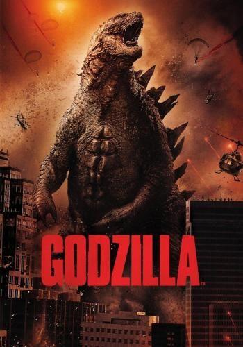Godzilla (2014), Movie on DVD, Action Movies, Sci-Fi & Fantasy