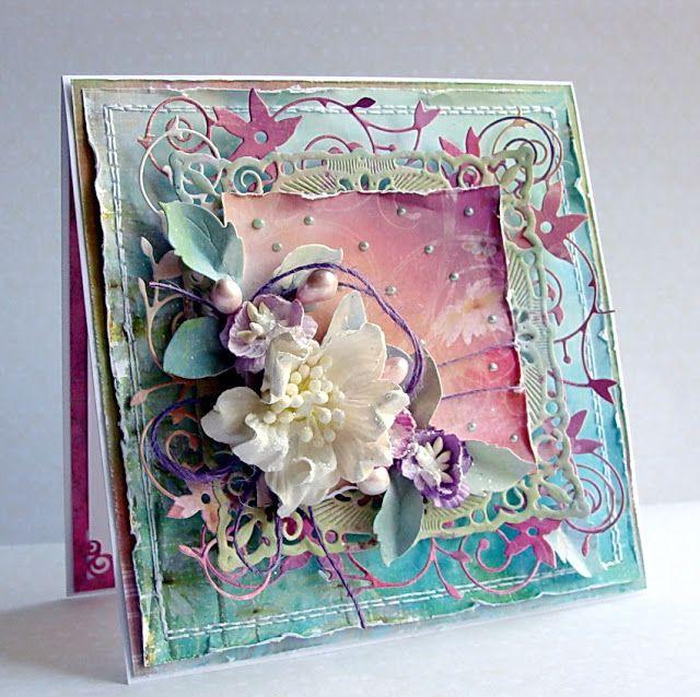 Dorota_mk card - delicious colors!