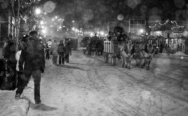 Snowflake Festival in the Perron District
