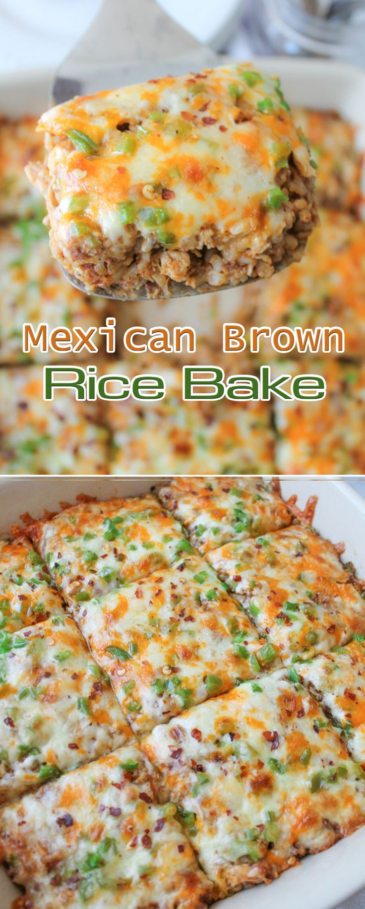 Mexican Brown Rice Bake - I might have to throw the beans in the blender so my husband doesn't notice but I'm definitely making this recipe.