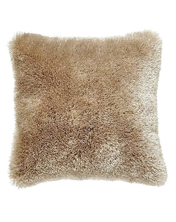 Shimmer Boutique Shaggy Cushion