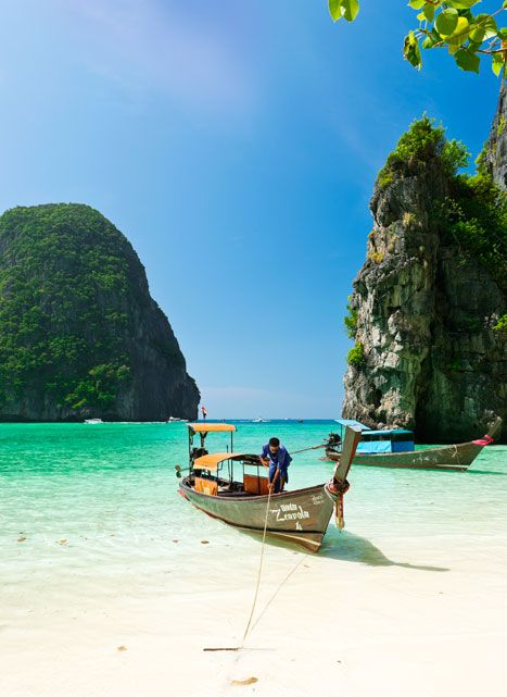 The pristine bay of Ao Noi on the island of Ko Phi-Phi Don. Photo by Catherine Sutherland  Khao Sok National Park    About two hours' drive north of Phuket