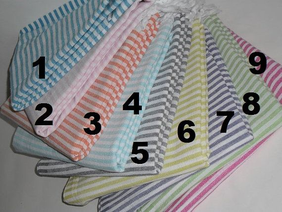 Turkish Towel Beach Towel Bath Towel  Hammam Fouta by muzey, $4.30