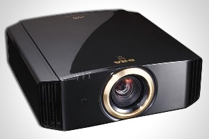 JVC DLA-RS60 Projector  Price: $11,995     The chairs in your MGM-mogul-style home theater set you back five-figures, so you don't want your guests to watch a television screen. This top-of-the line projector beams crystal clear HD images against a silver screen as big as as your wall can accommodate. It's also THX certified for 3D, so you'll hear movie quality sound as you watch the images pop off the screen.