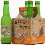 GINGER BREW | Maine Root Handcrafted Beverages This Ginger Brew is good.  Not quite a ginger ale, more like a ginger beer.  It's got a bit of a kick to it.