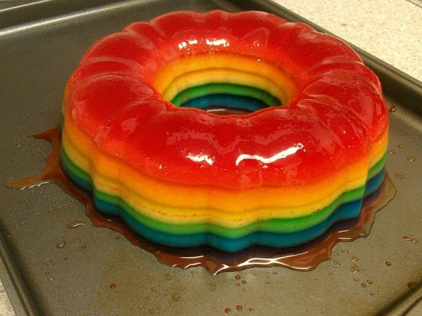 Jello shot cake: bad idea? or the worst idea? totally need to do this