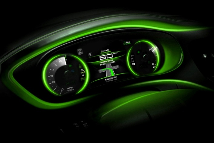 2013 Dodge Dart custom interior, TOTALLY wouldn't mind doing this to my soon to be Dart..