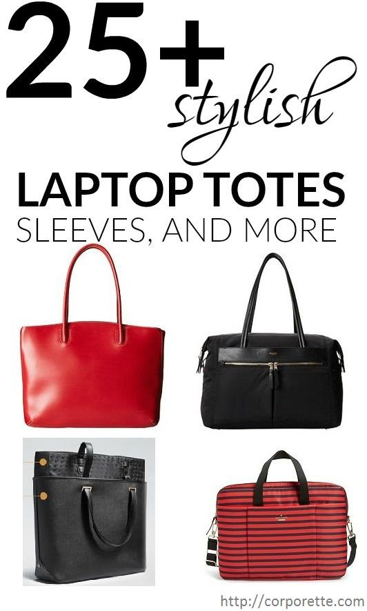 big roundup of laptop totes, sleeves and more