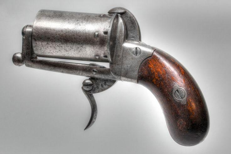 7mm Spanish Pepperbox Pinfire Pistol