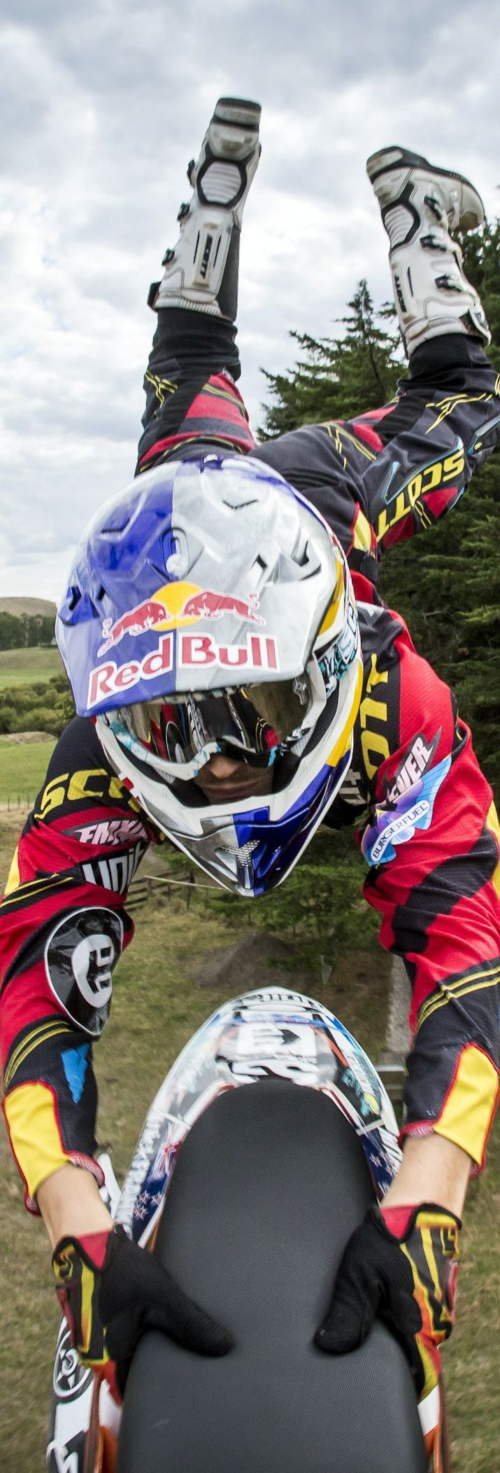 Hold on tight, it's only monday. #redbull #givesyouwings