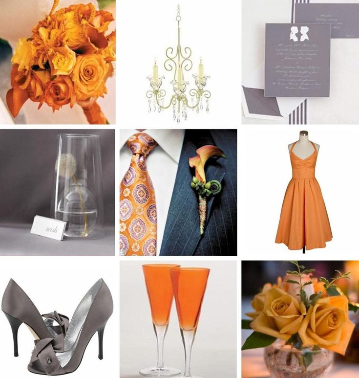 Grey Wedding Ideas: 1000+ Images About Orange & Grey Wedding On Pinterest