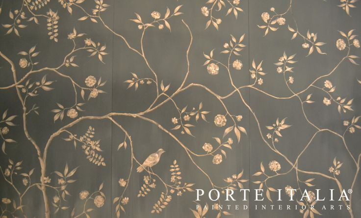 """Our unique ceiling decorations, entirely handmade by our own Italian artists! Here's a preview of our Milan ceiling decoration at """"Il Salone del Mobile"""" - Porte Italia Interiors"""