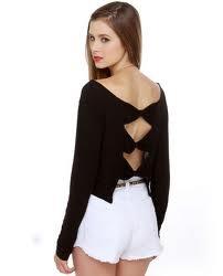 brandy mellville bow shirt <3