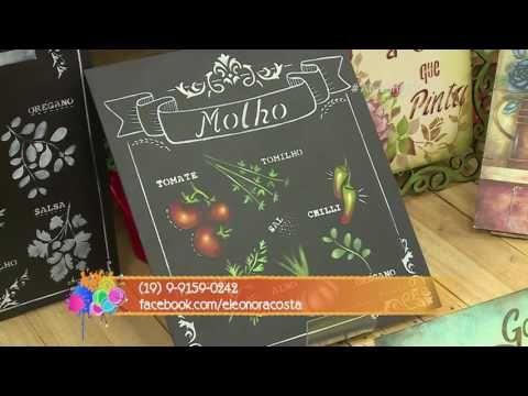 Ateliê na TV - Rede Vida - 10.07.2017 - Maria Eleonora Costa e Alessandra Mattos - YouTube