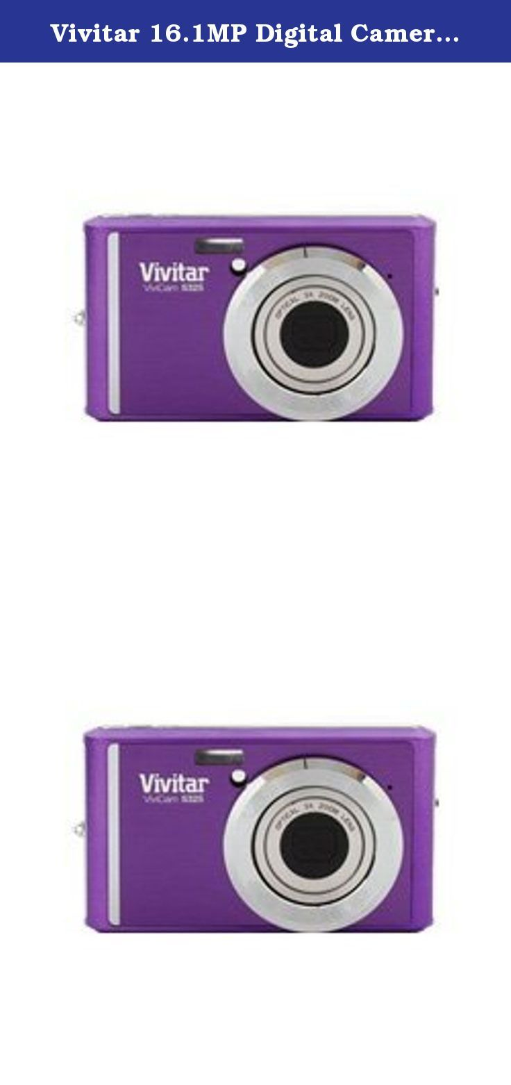 Vivitar 16 1mp digital camera silver vs325 take photos with this awesome