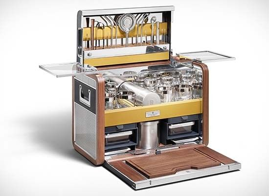 Rolls-Royce Cocktail Hamper  -  It is stunning, and stunningly expensive! #RollsRoyce #Cocktail #Hamper