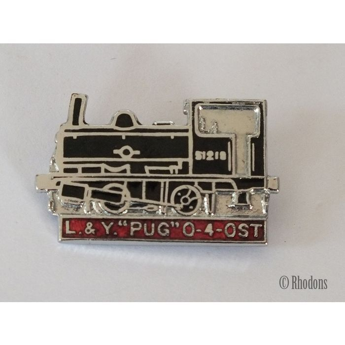 L & Y 'Pug' 0-4-0ST Steam Train Enamel Lapel Pin Badge Listing in the Enamel Badges & Pinbacks,Badges, Pinbacks & Patches,Collectables Category on eBid United Kingdom | 145237171