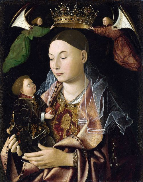 Antonello DA MESSINA - Madonna Salting 1460s