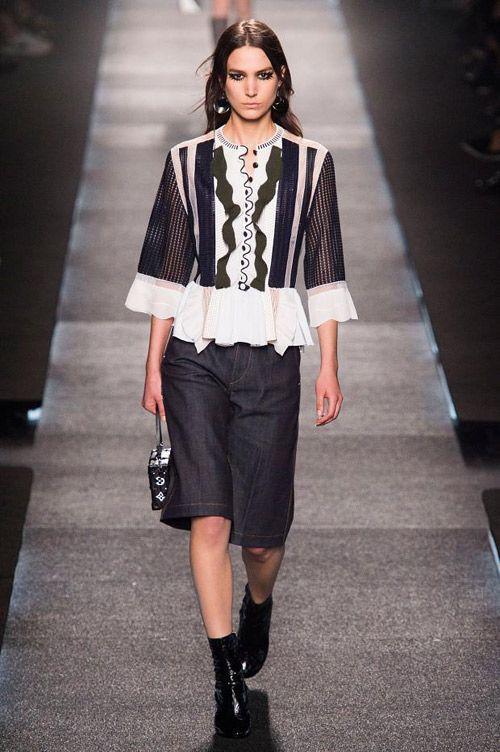 frühjahrs outfit damen | Frühjahr/Sommer 2015 - Prêt-à-Porter-Mode von Louis Vuitton