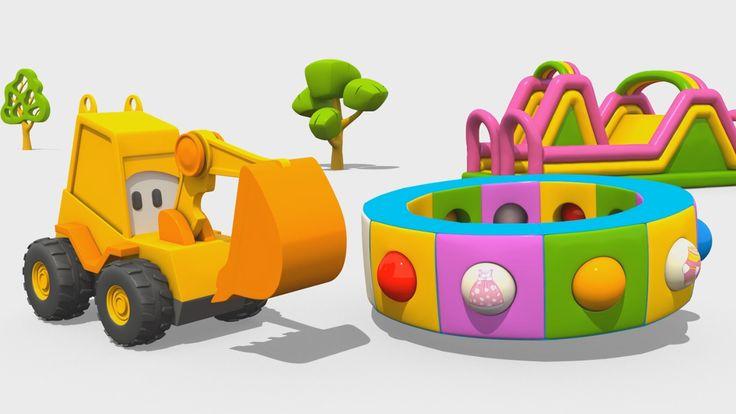 Cartoni Animati per Bambini - L'escavatore Max e la fantastica giostra: gli abiti