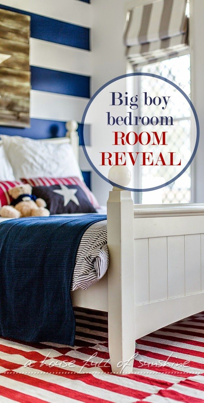 A house full of sunshine: Jaxon's big boy bedroom - room reveal!