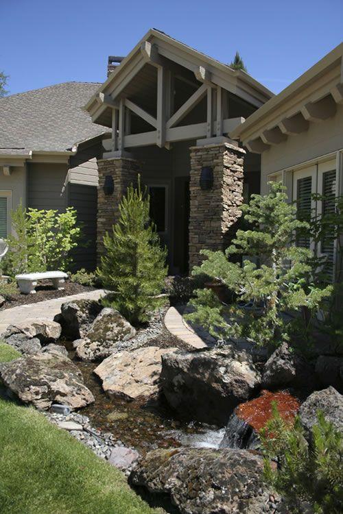 17 Best Images About Boulder Landscaping On Pinterest