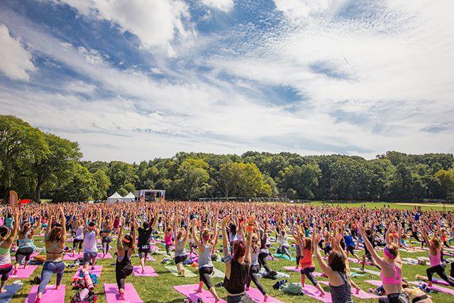 Wanderlust, the yoga festival for all