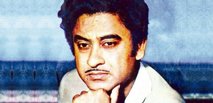 Kishore Kumar, renowned Indian playback singer