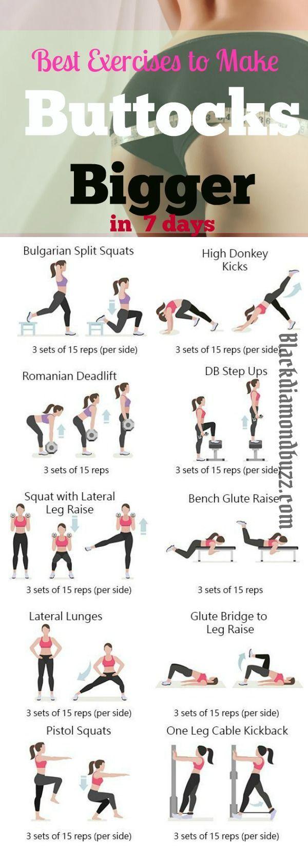 Best 25 Bigger Buttocks Workout Ideas On Pinterest -4315