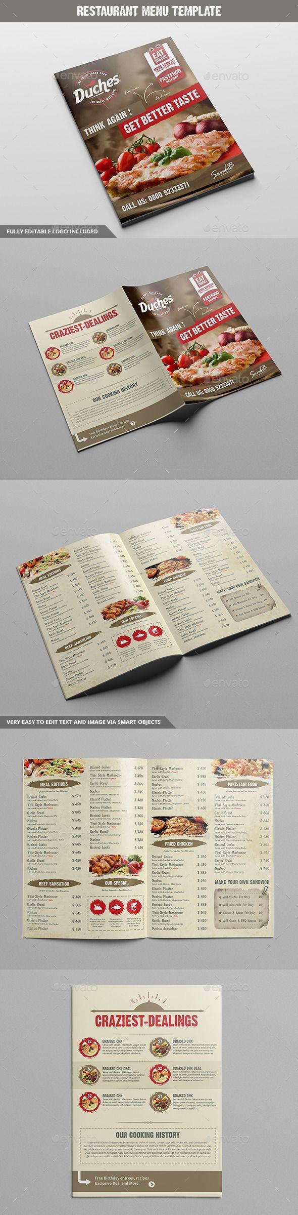 Restaurant Menu Template #design Download: http://graphicriver.net/item/restaurant-menu/11717091?ref=ksioks