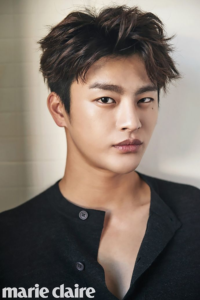 Marie Claire's October Issue Feat. Young Hawtties Seo In Guk & Chen Bo Lin   Couch Kimchi