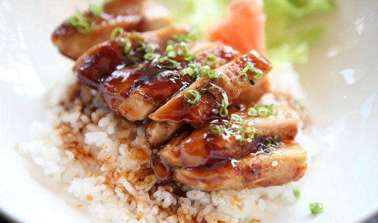 Κοτόπουλο με σάλτσα ουίσκι και ρύζι μπασμάτι