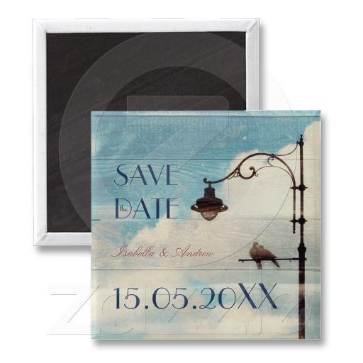 Turtle Doves - love and faithfulness Fridge Magnet