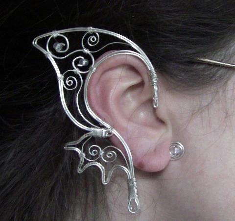 fantasy fairy ear cuff