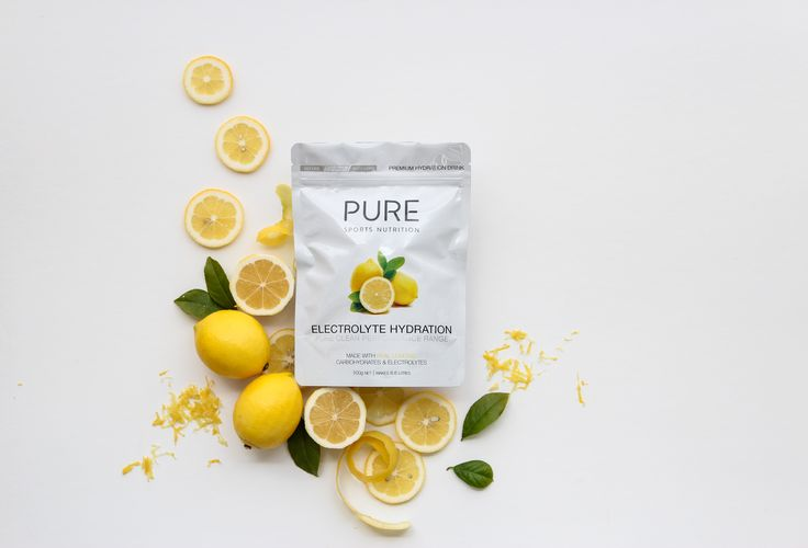 Styling and Photography for Pure Sports Nutrition