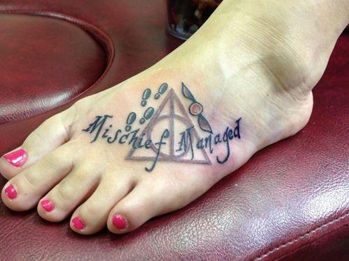 Funny Harry Potter Tattoos