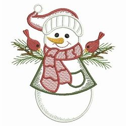 Vintage Snowman 2 - 3 Sizes! | What's New | Machine Embroidery Designs | SWAKembroidery.com Ace Points Embroidery