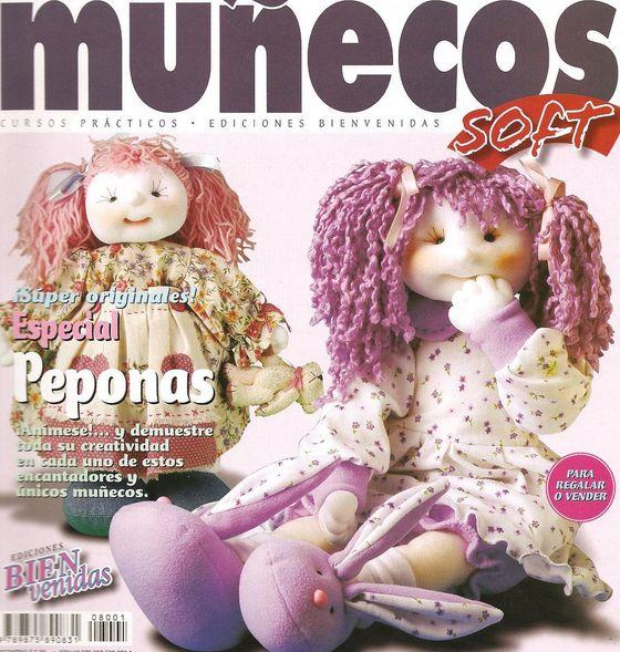 """El libro """"Las Muñecas. Cosa juguetes de peluche. Patrones""""."""