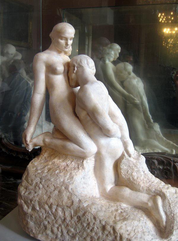 esculturas, Michelangelo, naturalismo, renascimento, Rodin: Eternel Idol, Classic Art, Art Piece, Auguste Rodin, Idol Eternel, 1889 1890 Auguste, Muse Rodin, Eternity Idol, Rodin Sculpture
