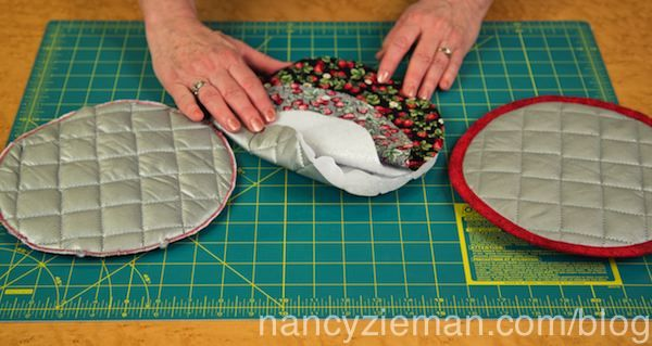 Nancy Zieman/Donna Fenske/Sew Quilted Potholders | Nancy Zieman Blog