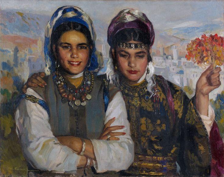 Jose Cruz Herrera, Beautés marocaines
