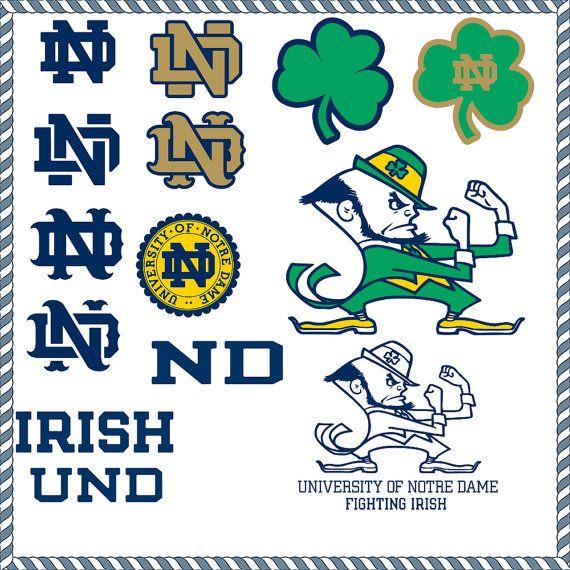 Notre+Dame+Fighting+Irish+Varsity+Logos++SVG+by+EPSsiIhovetteSVG