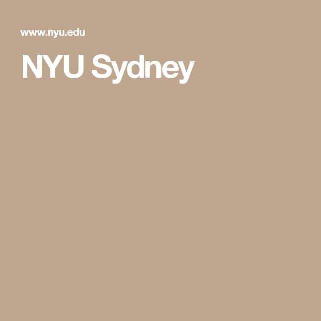 NYU Sydney