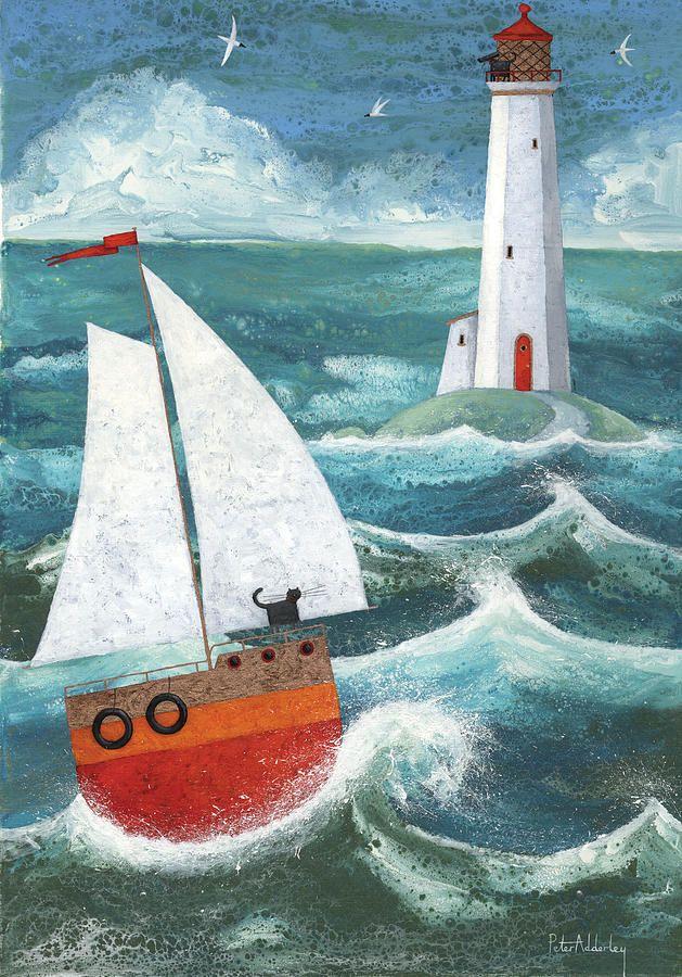Safe Passage Variant 1 Fine Art Print by Peter Adderley